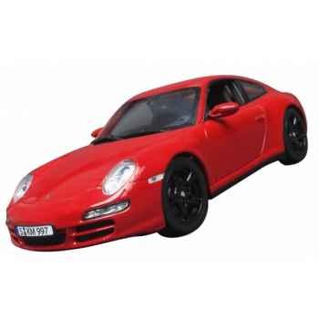 Porsche carrera 4s coupé rouge Norev 187510