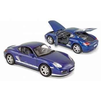 Porsche cayman 2009 blue metallic Norev 187602