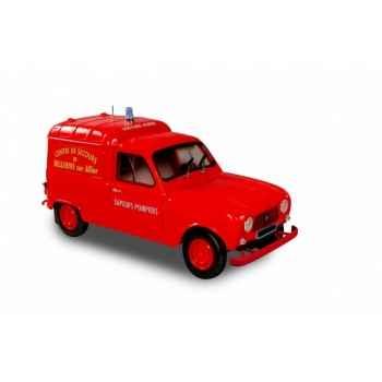 Renault 4 f4 pompiers 1965 Norev 185193