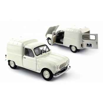 Renault 4f4 blanche 1965 Norev 185195