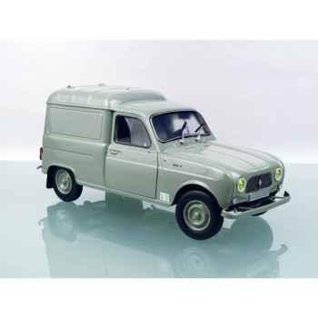 Renault 4l fourgonette civile grise Norev 185190