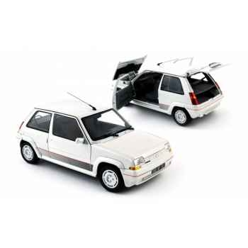 Renault 5 gt turbo phase 1 blanc nacré 1985 Norev 185200