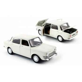 Simca 1000 ls blanche 1974  Norev 185711