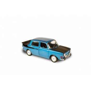 Simca 1000 rallye 2 bleu sidéral 1976  Norev 185698