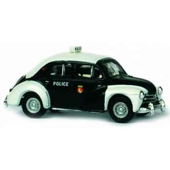 Coffret de 4 renault 4cv police pie  ho Norev 513207
