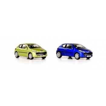 Peugeot 207 ho coffret de 4 pièces Norev 472775