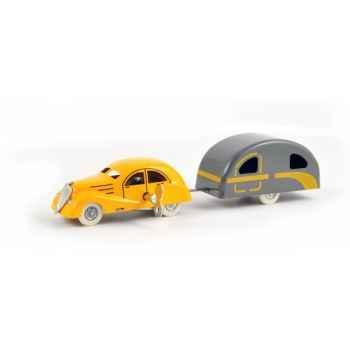 Renault viva grand sport + caravane  Norev C31541