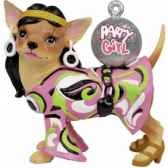 figurine chien chihuahua party girchi13696