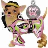figurine chien chihuahua party girchi13696