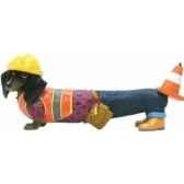 figurine chien travaux publics hotdiggity 17935