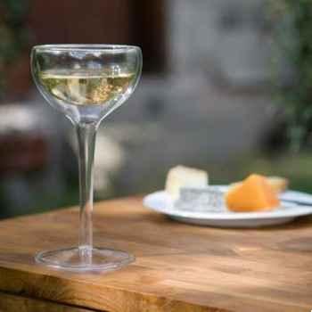 2 Verres à vin isotherme base verre - BL02