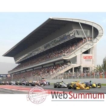 """F1-Grand Prix d'Espagne- Catalunya- Formule """"Passion""""-Chambre double, Tribune E-F-A**."""
