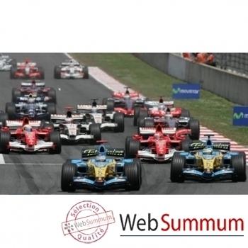 "F1-Grand Prix d'Espagne- Catalunya- Formule ""Passion"" 2008-Chambre double."