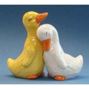 Figurine animaux Canards Sel et Poivre 93971