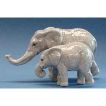 Figurine animaux Eléphants Sel et Poivre 93975
