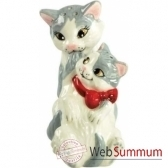 figurine animaux chats seet poivre 93970