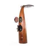 la colonne de bar queue de baleine en bois de rauli hauteur 180 cm last mqu180 r