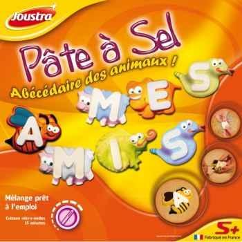 Pâte à sel abécédaire des animaux Joustra 41009