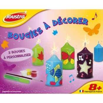 Bougies à décorer Joustra 42099