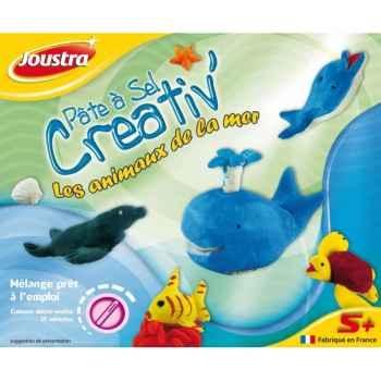 Pâte à sel creativ' les animaux de la mer Joustra 41026