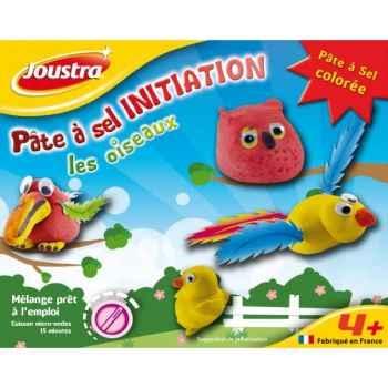 Pâte à sel initiation les oiseaux Joustra 41006