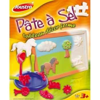 Pâte à sel tableau décor nounours Joustra 41023