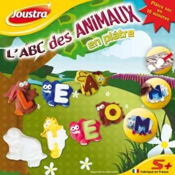 L'abc des animaux en plâtre Joustra 41082