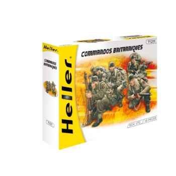 Maquette commandos britanniques heller -49632