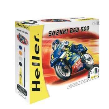 Maquette suzuki rgv 500 heller -50922