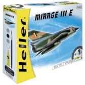 maquette dassault mirage iii e r 5 heller 50323