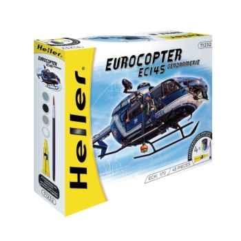 Maquette eurocopter ec 145 gendarmerie heller -50378