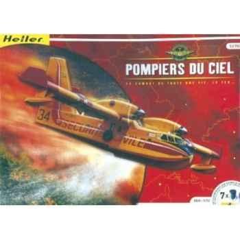 Maquette pompier du ciel / canadair heller -52702