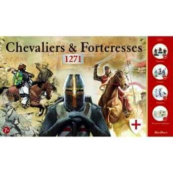 Maquette chevaliers & forteresses heller -52607