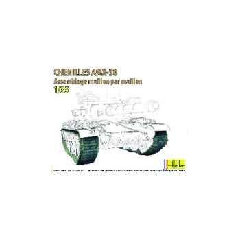 Maquette chenilles amx 30 heller -81301