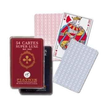 54 cartes, boîte cristal Piatnik-jeux 144226