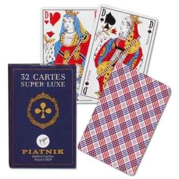 32 cartes, boîte carton Piatnik-jeux 144318