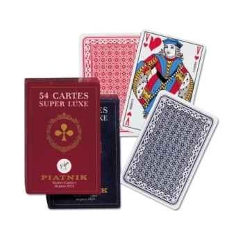 54 cartes, boîte carton Piatnik-jeux 144417