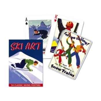 Ski art Piatnik-jeux 149719