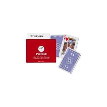 100% plastic poker Piatnik-jeux 236037