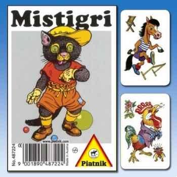 Mistigri animaux rétro Piatnik-jeux 487224