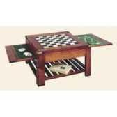 table basse temps avec 3 plateaux double face epoque 19eme 80 x 44 x 80 cm co 085pc