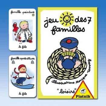 Jeu de 7 familles loisirs Piatnik-jeux 488313