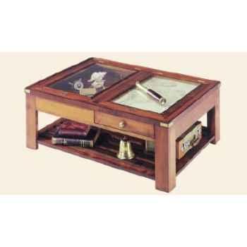 Table de 'Roof', avec patine, époque 19ème - 110 x 40 x 80 cm - SQ-042
