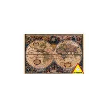 Ancienne carte du monde Piatnik-jeux 555169