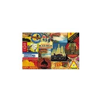 Vacances américaines 1000 Piatnik-jeux 556746