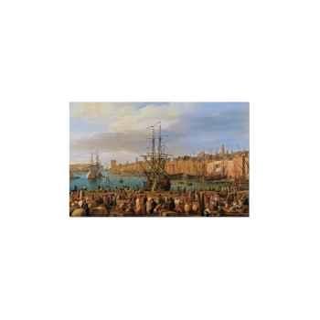 Vernet, vue du port de marseille Piatnik-jeux 562044
