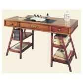 table de timonier sans patine epoque 19eme dessus cuir 140 x 78 x 70 cm co 083