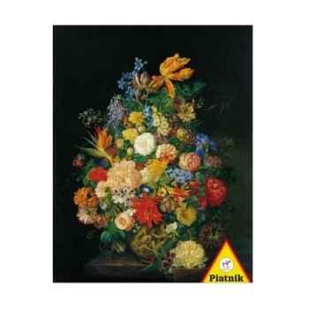 Petter, un bouquet de fleurs dans un vase Piatnik-jeux 565847