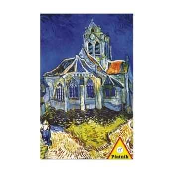 Van gogh, l'église d'auvers Piatnik-jeux 568244