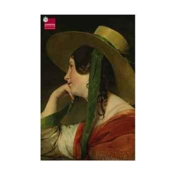 Amerling, la fille au capeau de paille Piatnik-jeux 568848